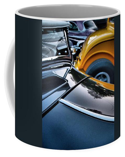 Showdown Coffee Mug featuring the photograph Showdown by Skip Hunt