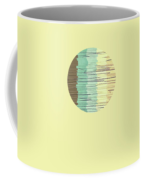 Graphic Design Coffee Mug featuring the digital art Shreds Of Color 2 by Phil Perkins