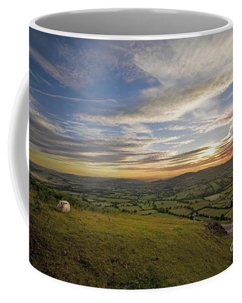 Long Mynd Hill Coffee Mug featuring the photograph Shropshire by Angel Ciesniarska