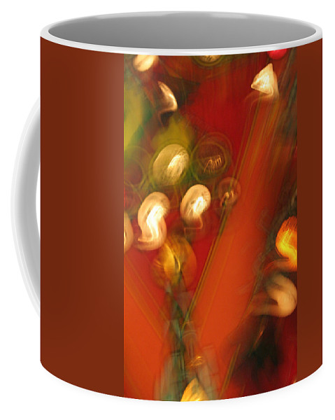 Abstract Coffee Mug featuring the photograph Shwiggle by Ric Bascobert