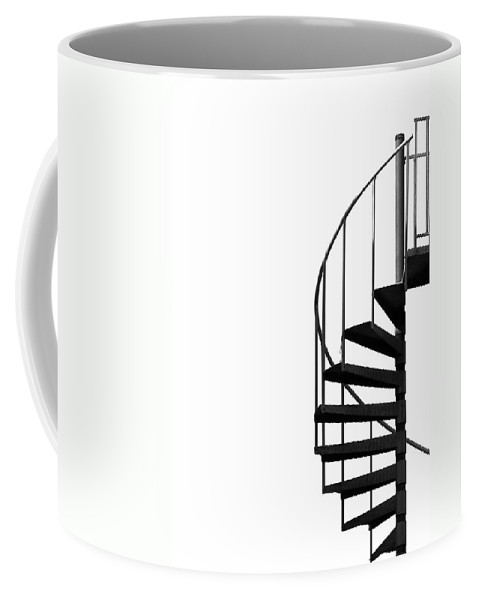 Composition Coffee Mug featuring the photograph Side Entrance by Evelina Kremsdorf