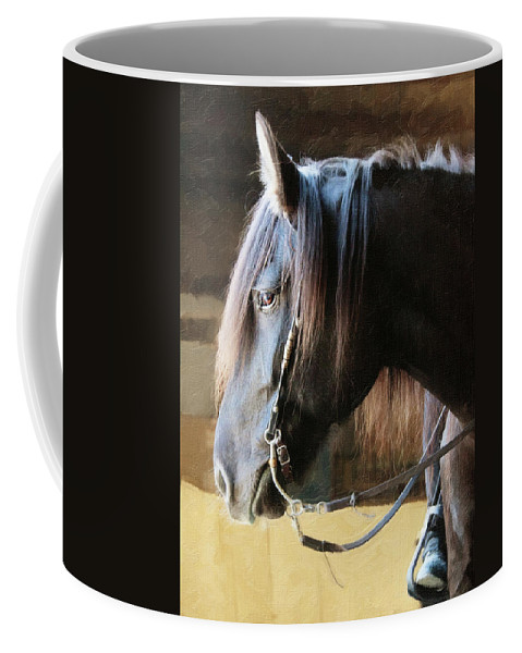 Animals Coffee Mug featuring the photograph Side Light by Sue Collura