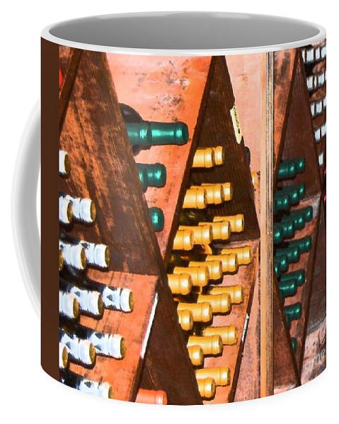 Wine Coffee Mug featuring the photograph Sideways by Debbi Granruth