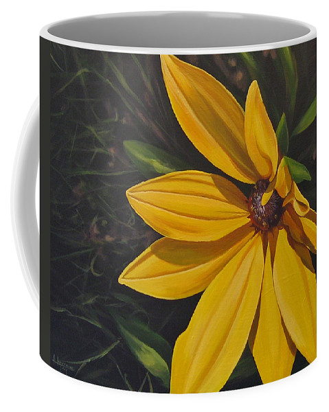 Wildflower Coffee Mug featuring the painting Sign Of Summer by Hunter Jay