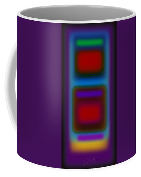 Landscape Coffee Mug featuring the painting Signal by Charles Stuart
