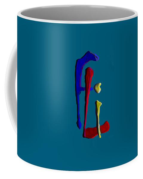 Fli Coffee Mug featuring the digital art Logo by Fli Art