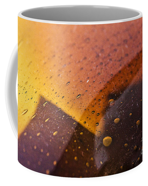 Abstract Coffee Mug featuring the photograph Signs-3 by Casper Cammeraat