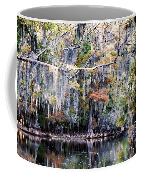Autumn Coffee Mug featuring the photograph Silent Reflection by Lana Trussell