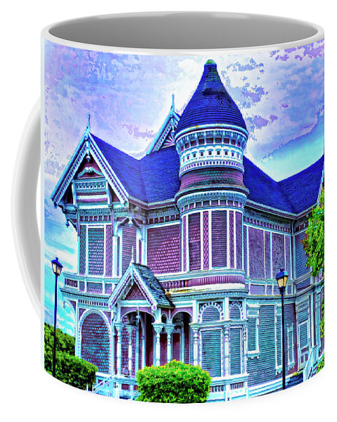 Silent Witness Coffee Mug featuring the mixed media Silent Witness by Dominic Piperata