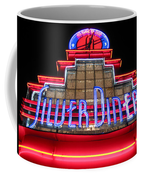 Silver Diner Coffee Mug featuring the photograph Silver Diner by Julie Niemela