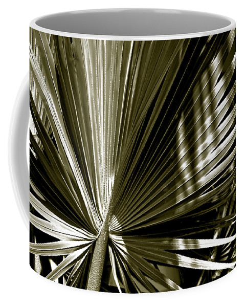 Photography Coffee Mug featuring the photograph Silver Palm by Susanne Van Hulst
