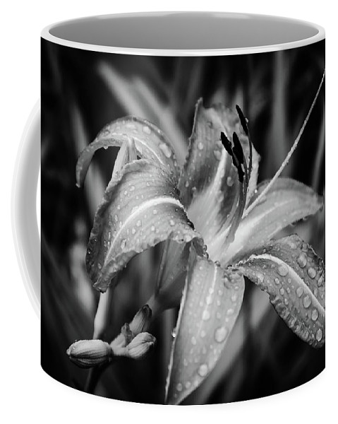 Nature Coffee Mug featuring the photograph Silvered Lily by Grace Carpenter
