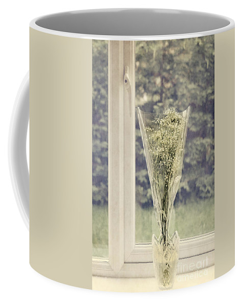 Anniversary Coffee Mug featuring the photograph Simple Bouquet by Svetlana Sewell