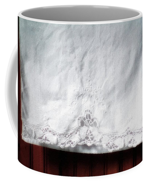 Bedding Coffee Mug featuring the painting Simple Elegance by RC DeWinter