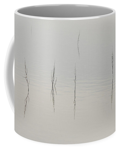 Lake Coffee Mug featuring the photograph Simplicity by Donna Blackhall