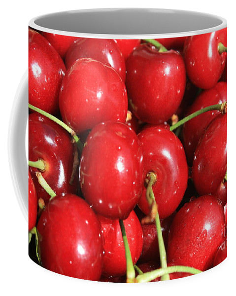 Cherries Coffee Mug featuring the photograph Simply Cherries by Carol Groenen
