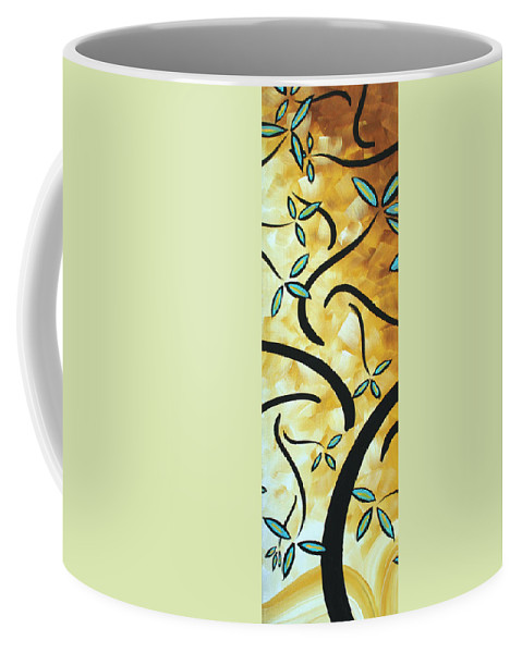 Wall Coffee Mug featuring the painting Simply Glorious 2 By Madart by Megan Duncanson