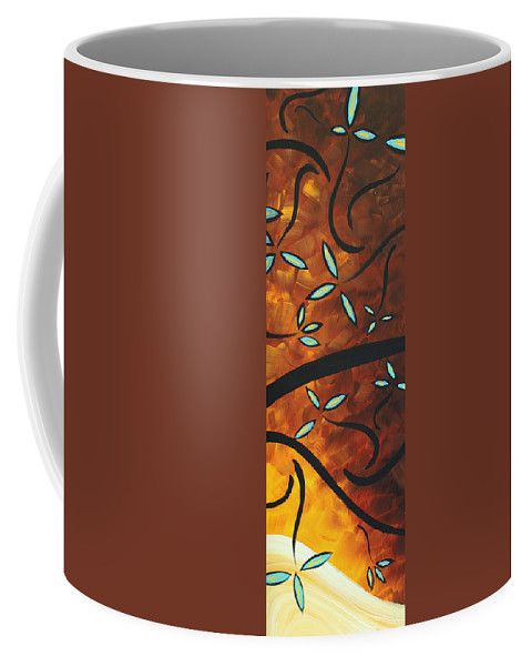 Wall Coffee Mug featuring the painting Simply Glorious 3 By Madart by Megan Duncanson