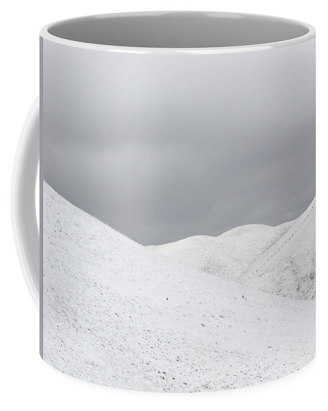 Snow Coffee Mug featuring the photograph Simply Snow by Karen W Meyer