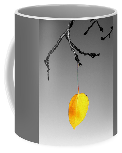 Quaking Coffee Mug featuring the photograph Singular Sensation by LeAnne Perry