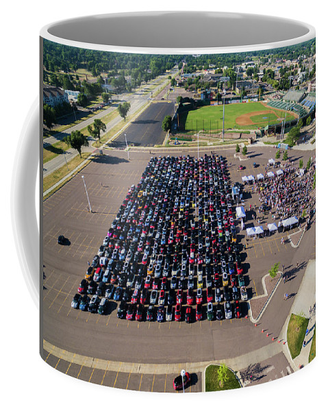 Mtts Coffee Mug featuring the photograph Sioux Falls Rise/shine 2 by That MINI Show