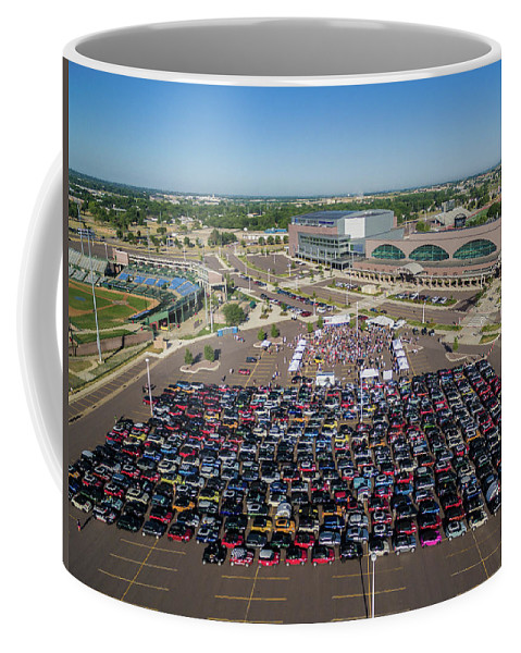 Mtts Coffee Mug featuring the photograph Sioux Falls Rise/shine 3 by That MINI Show