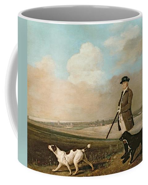 Sir Coffee Mug featuring the painting Sir John Nelthorpe by George Stubbs