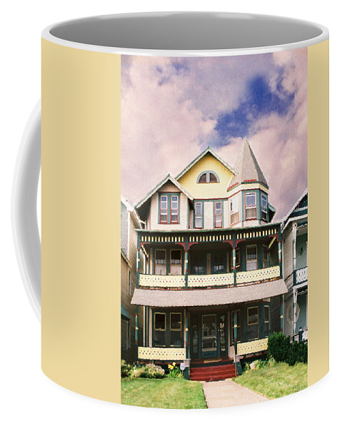 Landscape Coffee Mug featuring the photograph Sisters panel three of Triptych by Steve Karol