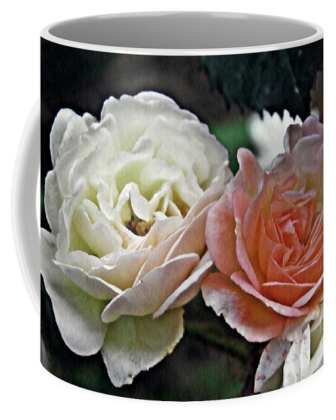 Rose Coffee Mug featuring the photograph Sisters by Sarah Loft