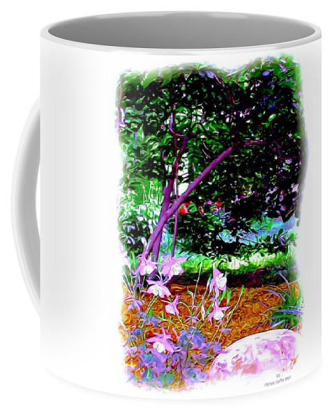 Fine Art Coffee Mug featuring the painting Sitting In The Shade by Patricia Griffin Brett
