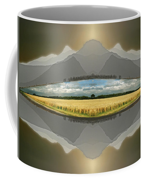 Landscape Coffee Mug featuring the photograph Sitting Silently by Casper Cammeraat