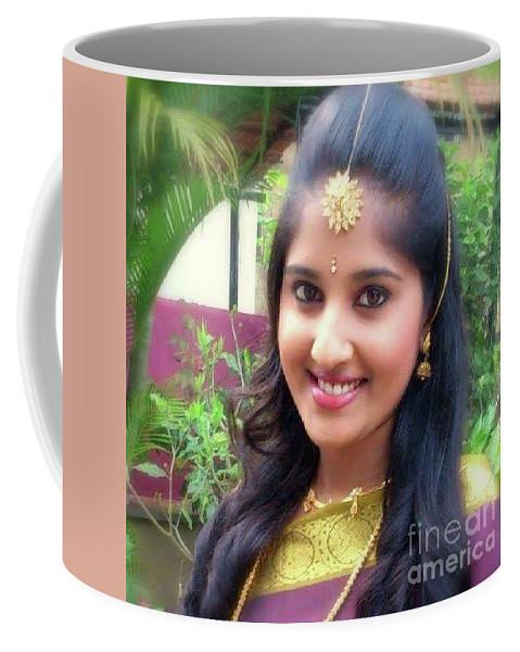 Siva's One And Only Baby Nisha Coffee Mug featuring the photograph Siva's One And Only Baby Nisha by Nirshanthiny Sivabalan
