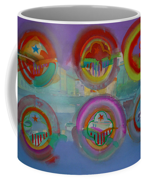 Landscape Coffee Mug featuring the painting Six Visions Of Heaven by Charles Stuart