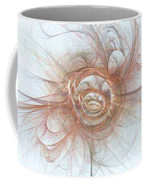 Coffee Mug featuring the digital art Skadielea by Doug Morgan
