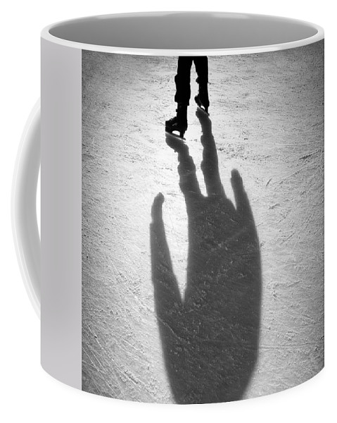 Skating Coffee Mug featuring the photograph Skater by Dave Bowman
