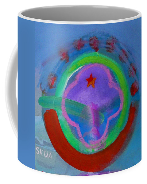 Love Coffee Mug featuring the painting Skua by Charles Stuart
