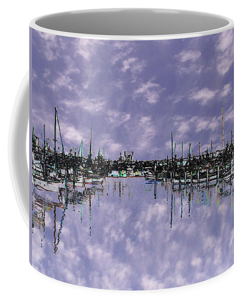 Seattle Coffee Mug featuring the photograph Sky Harbor by Tim Allen