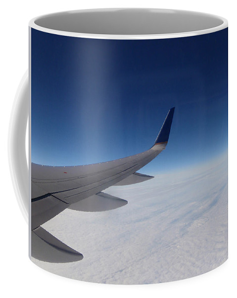 Sky Coffee Mug featuring the photograph Sky Is The Limit by Are Lund
