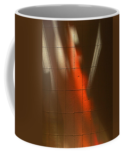 Abstract Coffee Mug featuring the photograph Sky Light Painting by Mykel Davis
