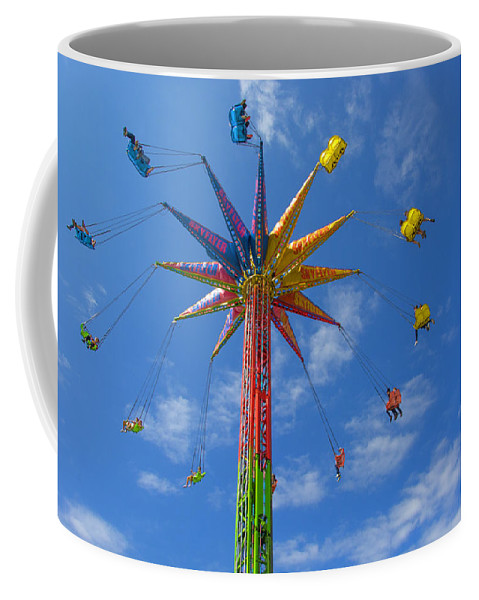 Fair Coffee Mug featuring the photograph Skyflyer by Mitch Spence
