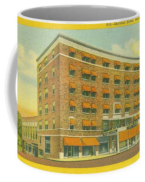 Skyland Hotel Coffee Mug featuring the photograph Skyland Hotel by Dale Powell