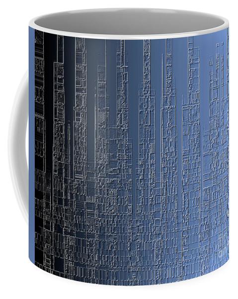 Skyline Coffee Mug featuring the painting Skyline 2 by Steve K