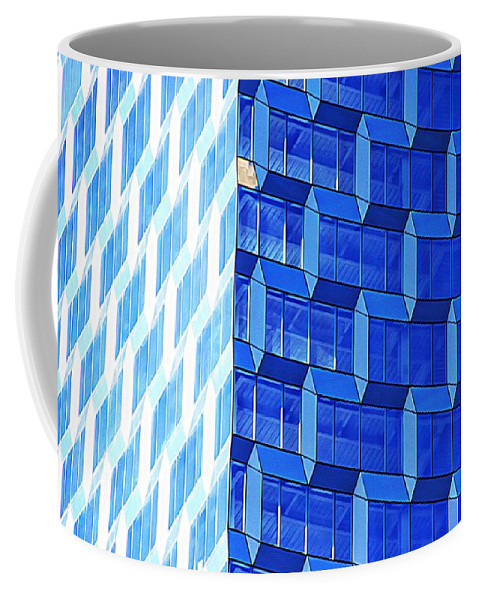 Alicegipsonphotographs Coffee Mug featuring the photograph Skyscraper Blue by Alice Gipson