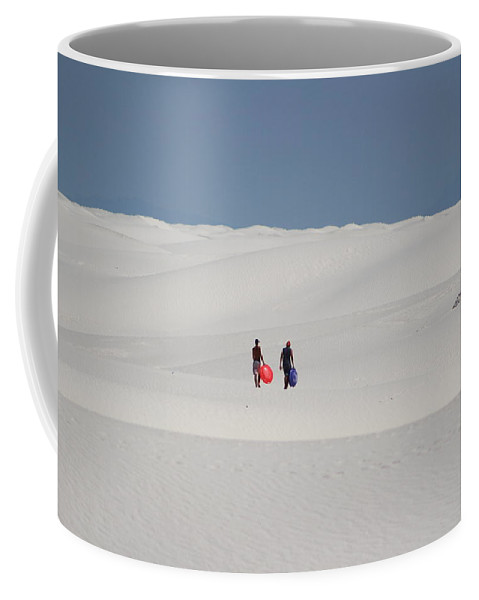 Sledding Coffee Mug featuring the photograph Sledding In Summer by Colleen Cornelius
