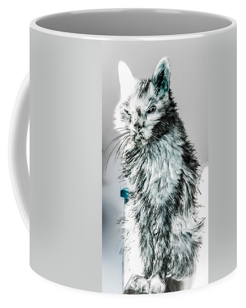 White Coffee Mug featuring the photograph Sleep With One Eye Open by Heather Joyce Morrill
