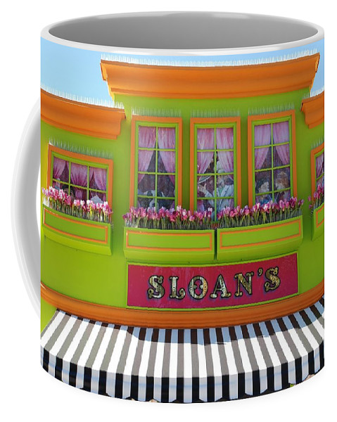 Architecture Coffee Mug featuring the photograph Sloans by Rob Hans
