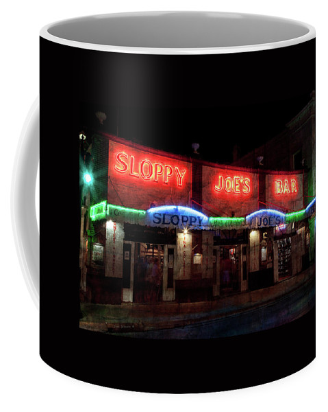 Sloppy Joes Bar Coffee Mug featuring the photograph Sloppy Joes Bar by John Stephens