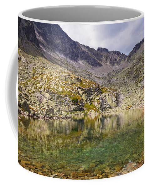 Nature Coffee Mug featuring the photograph Small Lake In Mala Studena Dolina by Mirko Chianucci
