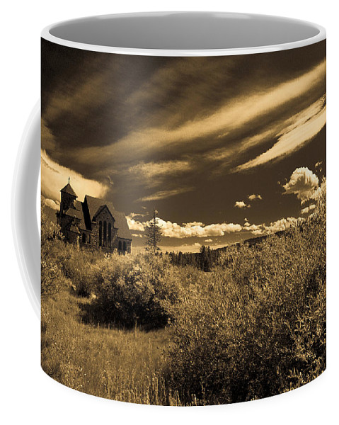 Church Coffee Mug featuring the photograph Small Town Church by Marilyn Hunt
