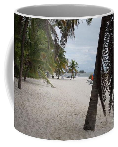 Beach Coffee Mug featuring the photograph Smathers Beach - Key West by Christiane Schulze Art And Photography